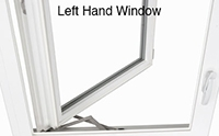 Left Hand Window